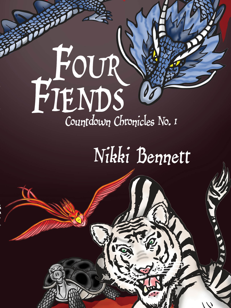 Four Fiends Cover Artwork