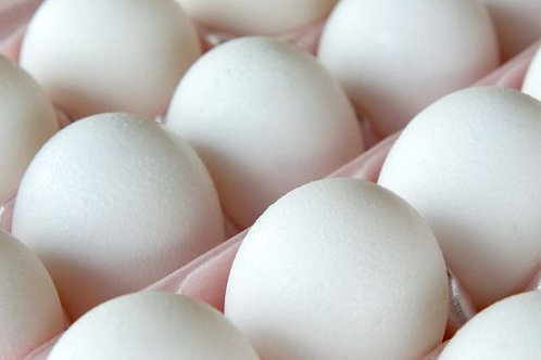 XL 特大号白壳鸡蛋30个