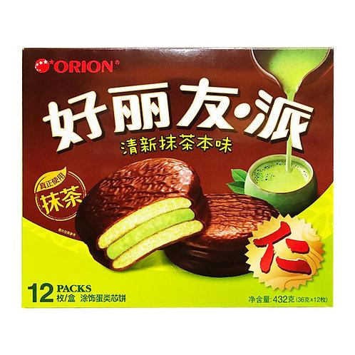 好丽友派 清新抹茶本味 12枚 276g