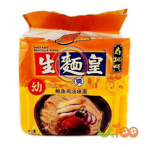 生面皇鲍鱼鸡汤面(70g*5)