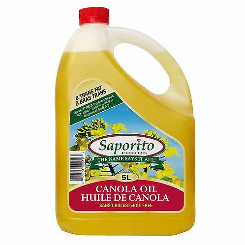 Saporito 菜籽油 5L