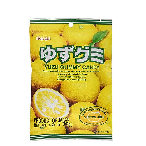 春日井柚子软糖 107g