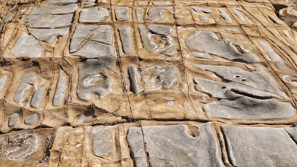 Geometric rocks - Great Ocean Road - Australia