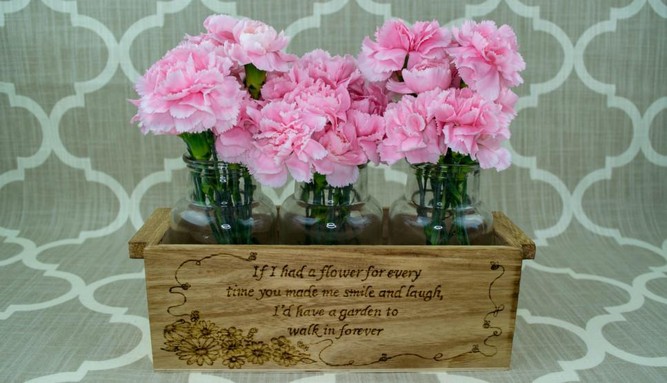 Custom Wood Flower Box