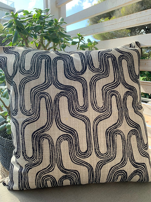 Curve Geometric Cushion Cover