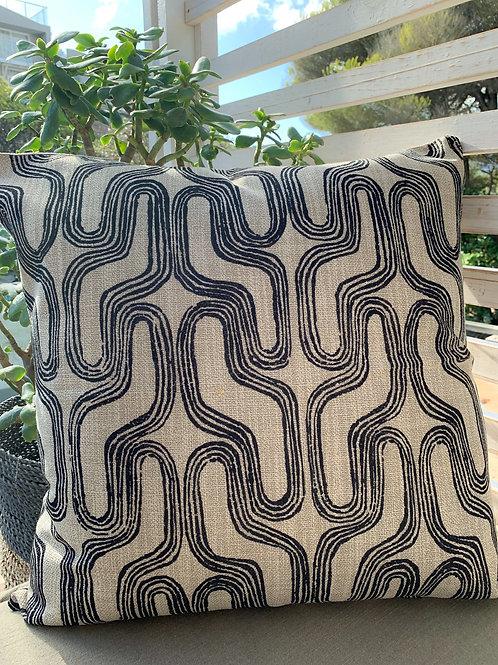 Curve Geometric Cushion Cover