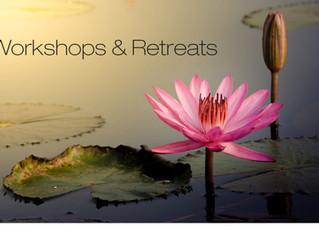 Workshops, funshops, and retreats, Oh My!