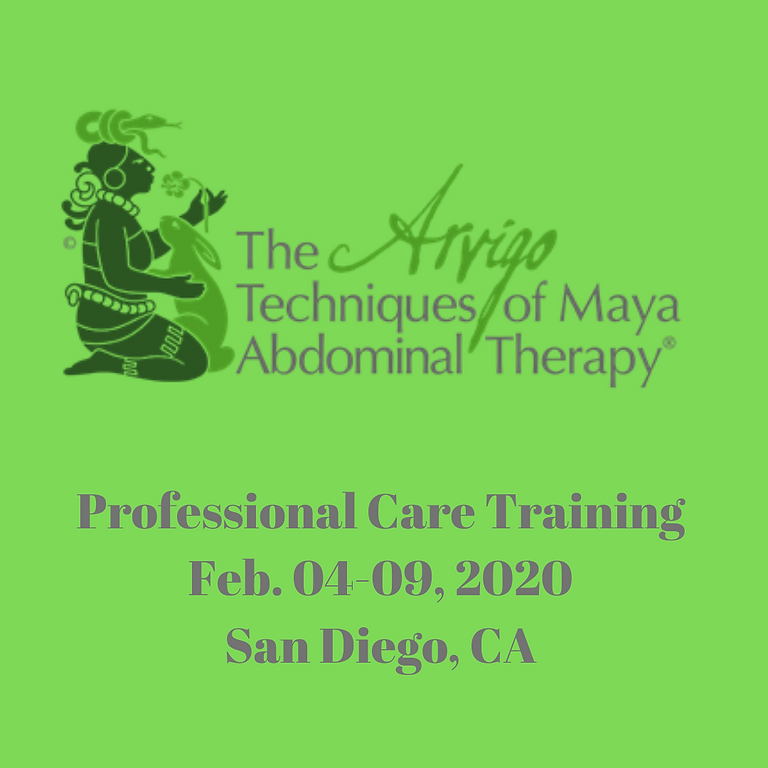 The Arvigo Techniques of Maya Abdominal Therapy®  Professional Care Training