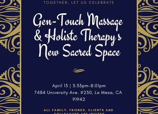 Come join me at my New Sacred Space Celebration next Saturday, April 13th!