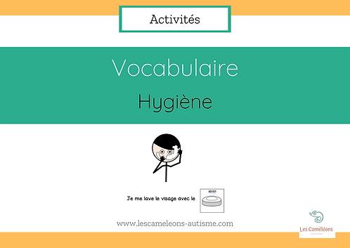 Vocabulaire - Hygiène