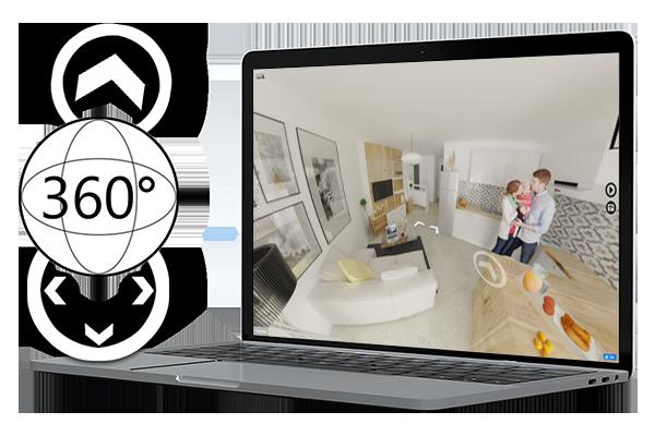 3. La visite virtuelle en images 3D