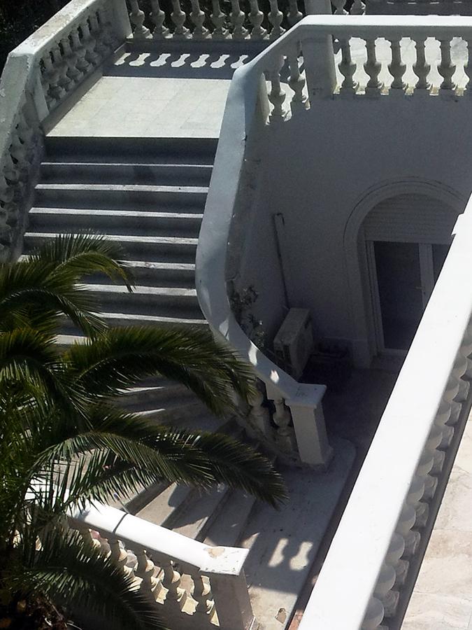 Escalier extérieur rénovation