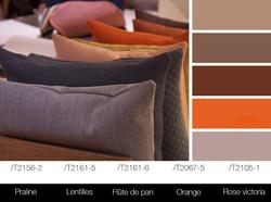 Une gamme colorée en camaïeux