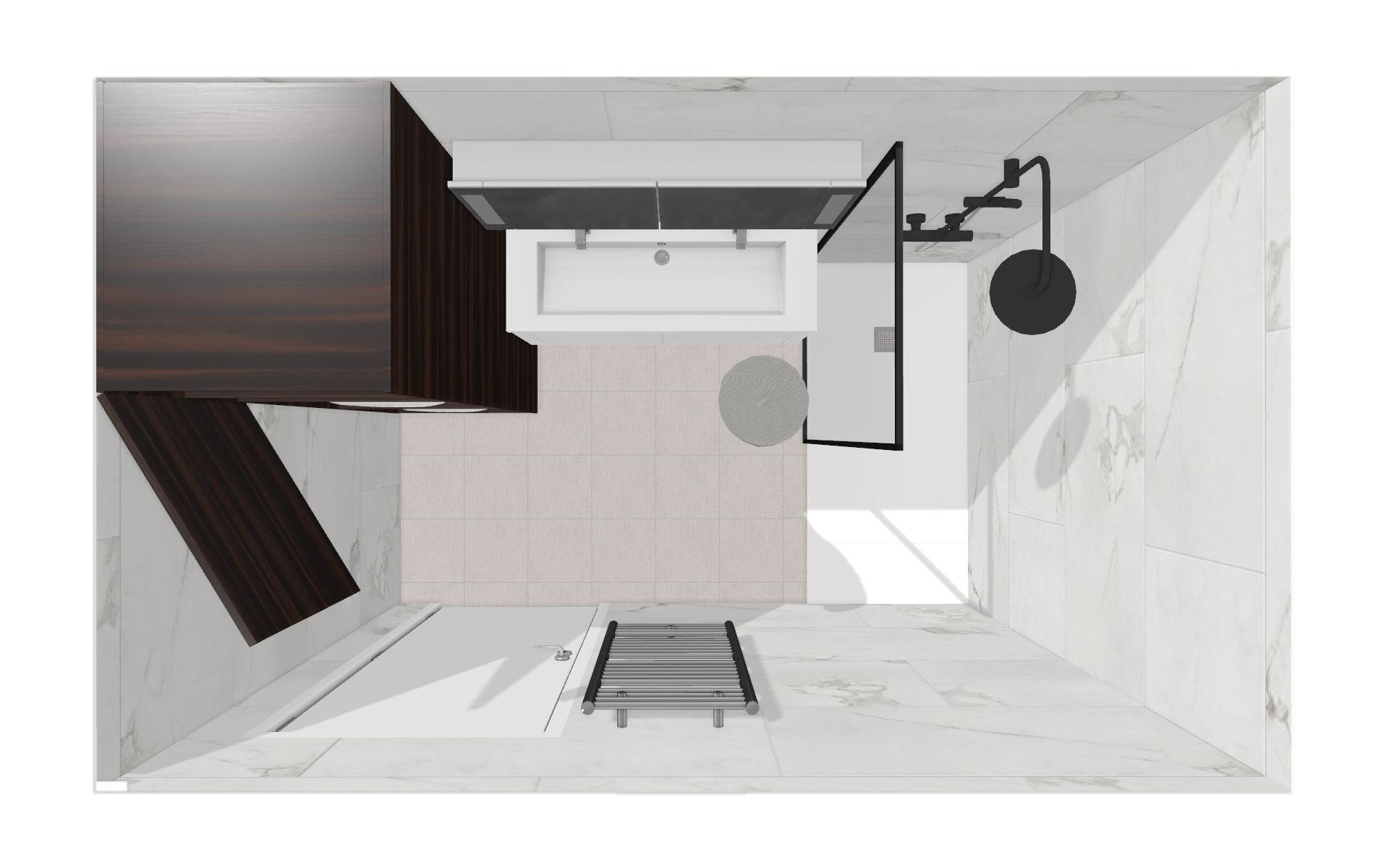 Volumétrie salle de bains
