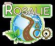 Logo de l'entreprise rosalie and co, spécialisée dans la location de vélos électriques et activités en plein air.