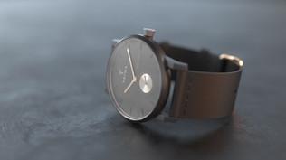 Une montre haut de gamme en 3D