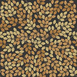 Un motif végétale en papier peint