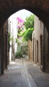 Une entrée pittoresque dans la vielle ville