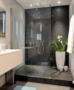 Salle de bain neutre et épurée