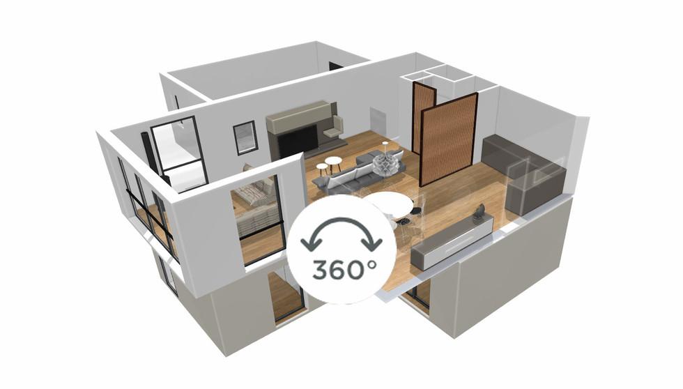 Maquette 3D 360 offerte avec (P2)