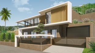 La modélisation 3D d'une villa d'architecte