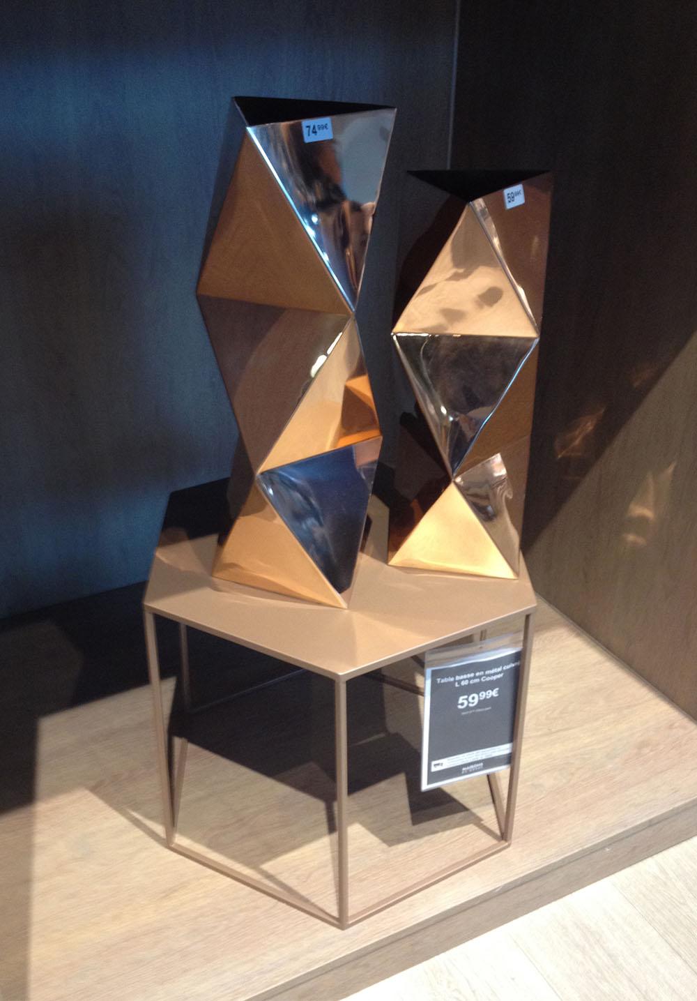 Les reflets modernes des vases