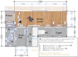 Plan 2D avec cotations