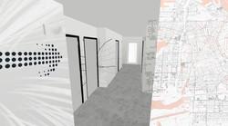 Photo montage couloir