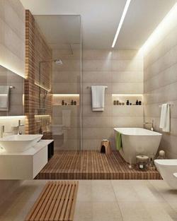 Salle de bain moderne
