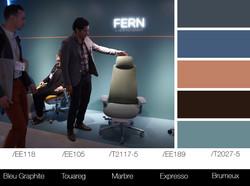 Des palettes de couleurs