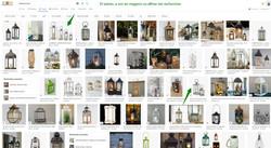 Des lanternes et bougeoirs décoratifs