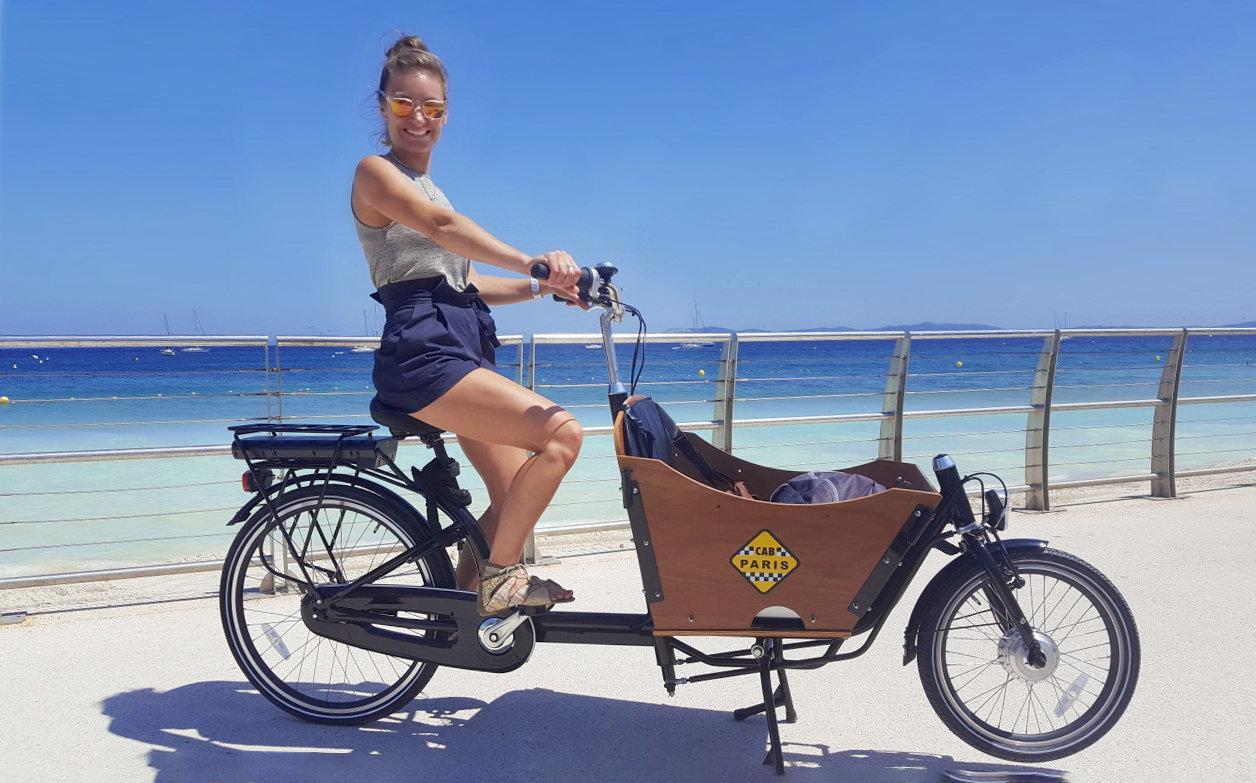 Vélo cargo électrique –1 Place