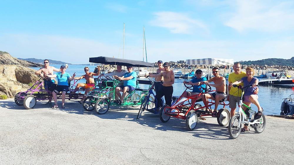location de vélos électriques et rosalies à Hyères les palmiers 83400