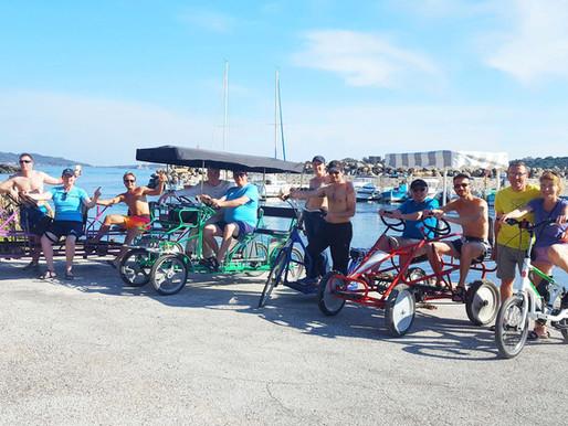 Présentation de nos modèls de vélos et transports écologiques