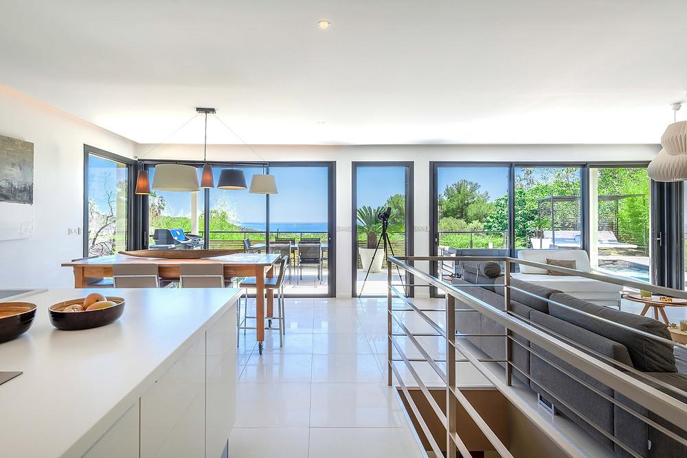 Une villa contemporaine située à Bandol