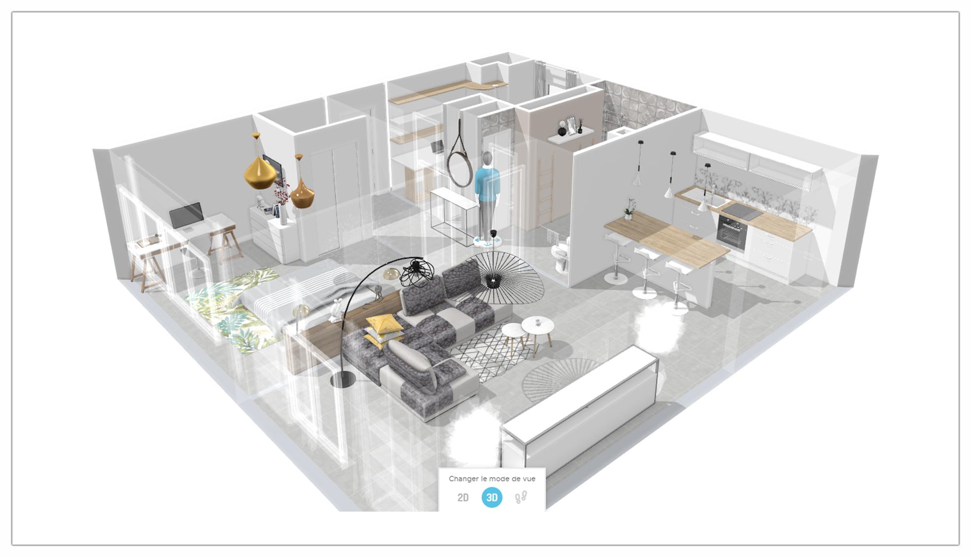 Le schémas 3D vue d'ensemble