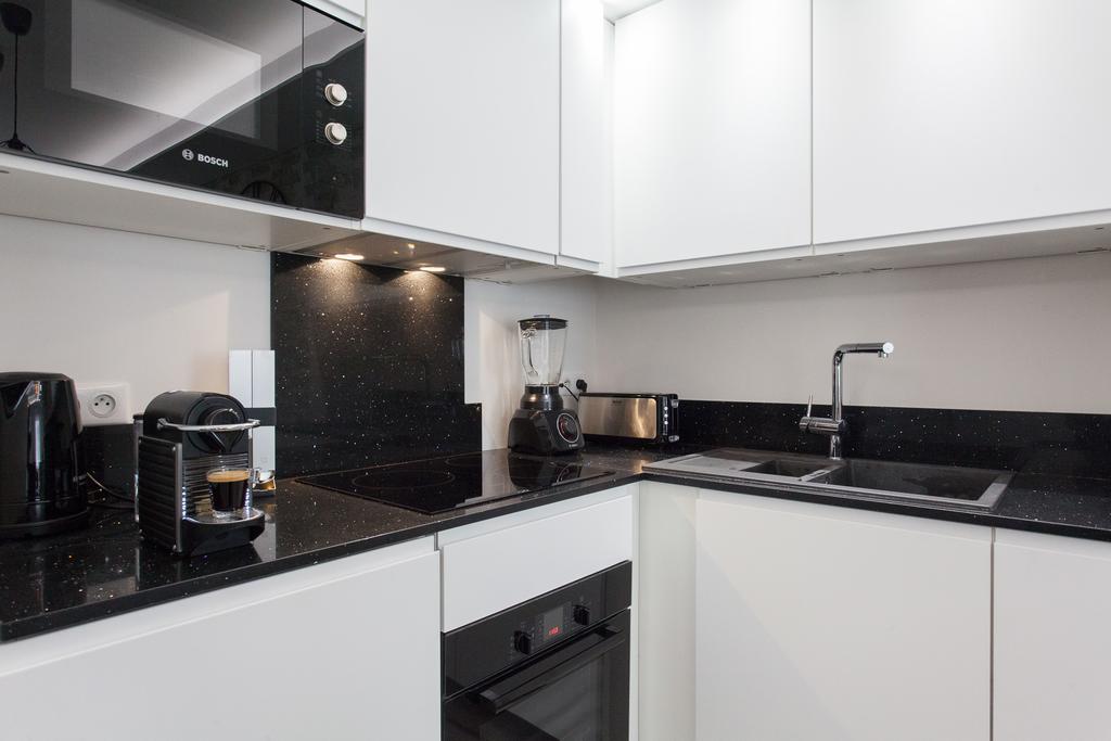 Une cuisine haute de gamme moderne