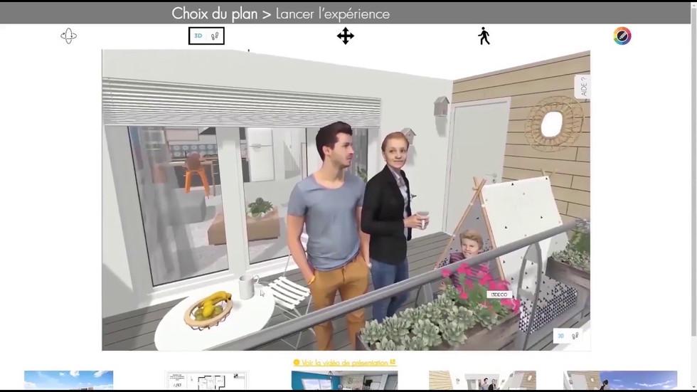 Vidéo de présentation du service dédié au visuels et maquettes, et plans 3D