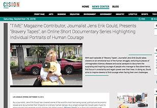 Jens-Erik-Gould-Bravery-Tapes-PRweb-2013