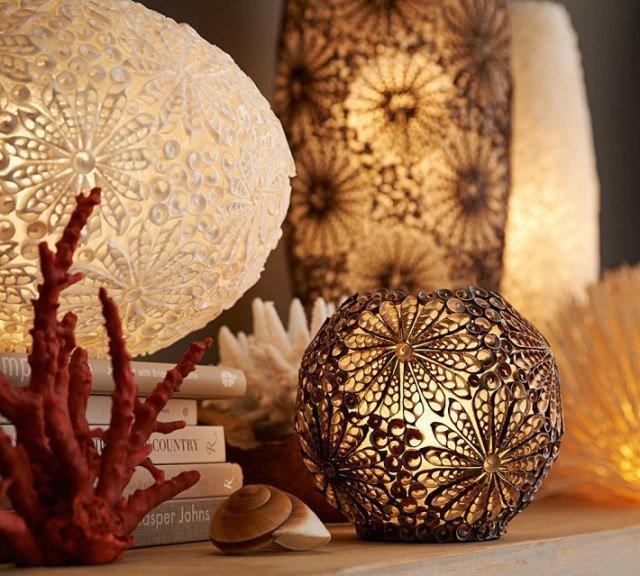 Des objets décoratifs fait à la main