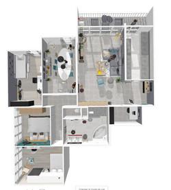 La rénovation d'un appartement familiale