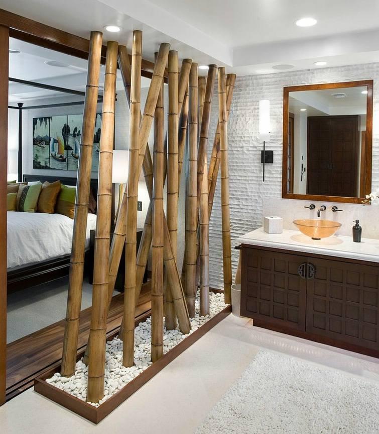 Une séparation de salle de bain