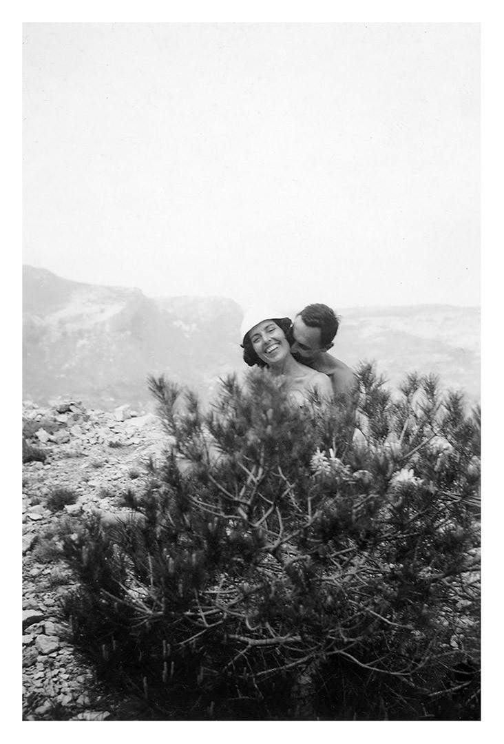 Un baiser volé dans les collines de provence