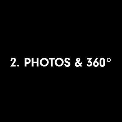 La photo grand angle et 360°