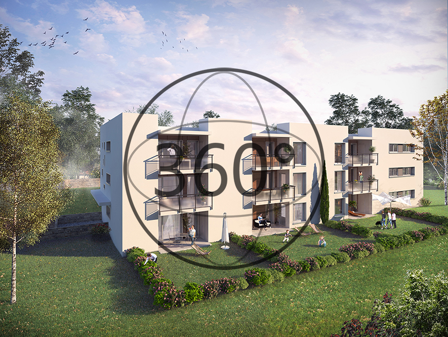 Les plans 3D de la résidence