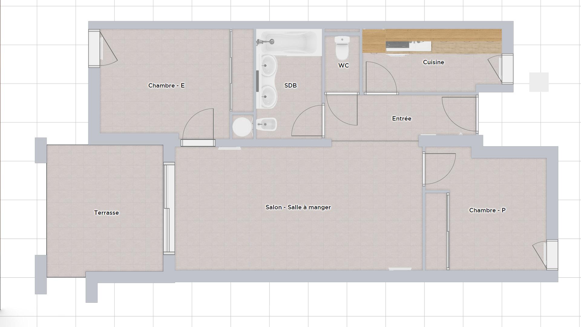 Plan 2D état des lieux