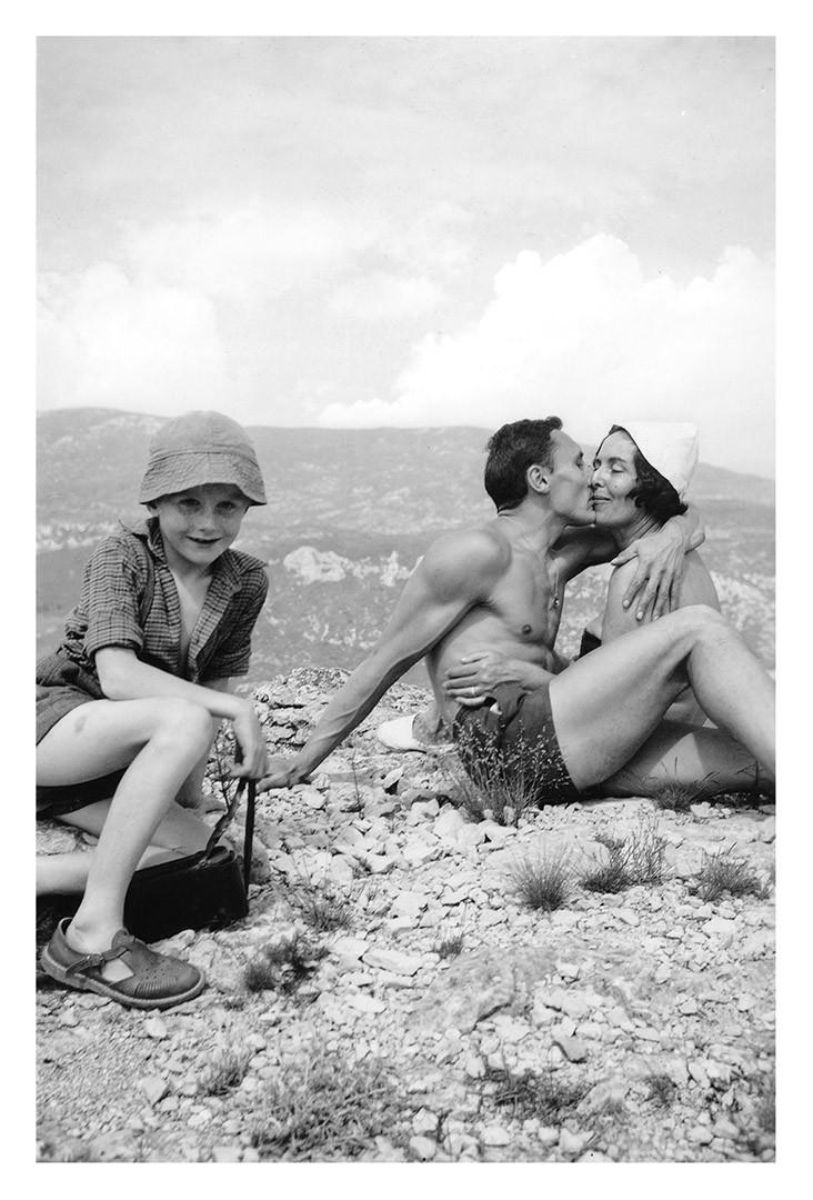 Nous partons en escapade, gravir les sommets avec mon ami et son petit neveu