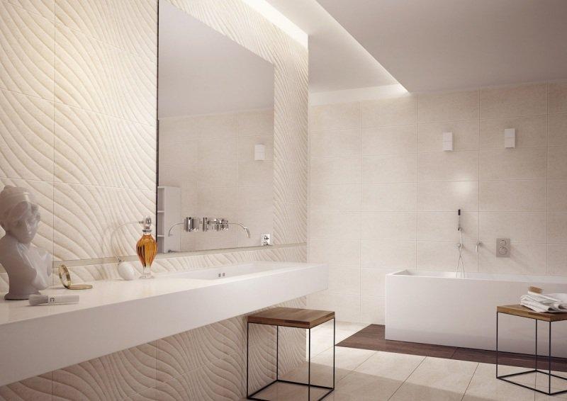 Une salle de bain épurée et moderne