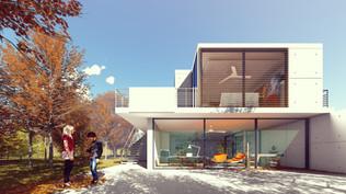 Une villa contemporaine en 3D interactive (B1)