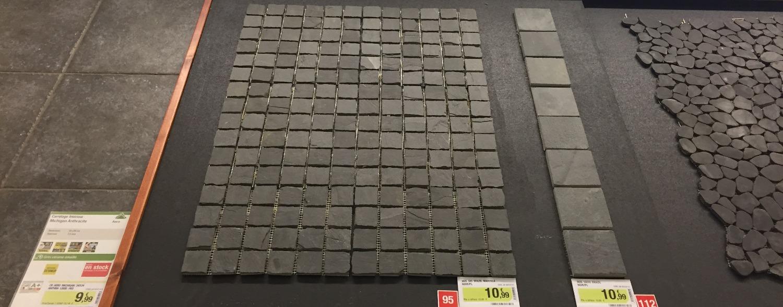Décoration choix des carreaux